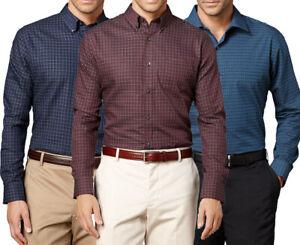 New-Van-Heusen-Big-amp-Tall-Mens-Pattern-No-Iron-Casual-Button-Down-Shirt-MSRP-60