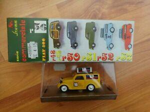 Brumm MODELLINO IN SCALA 1/43 R56 FIAT 500 PUBBLICITARIO 500A ISOLABELLA NUOVO IN SCATOLA