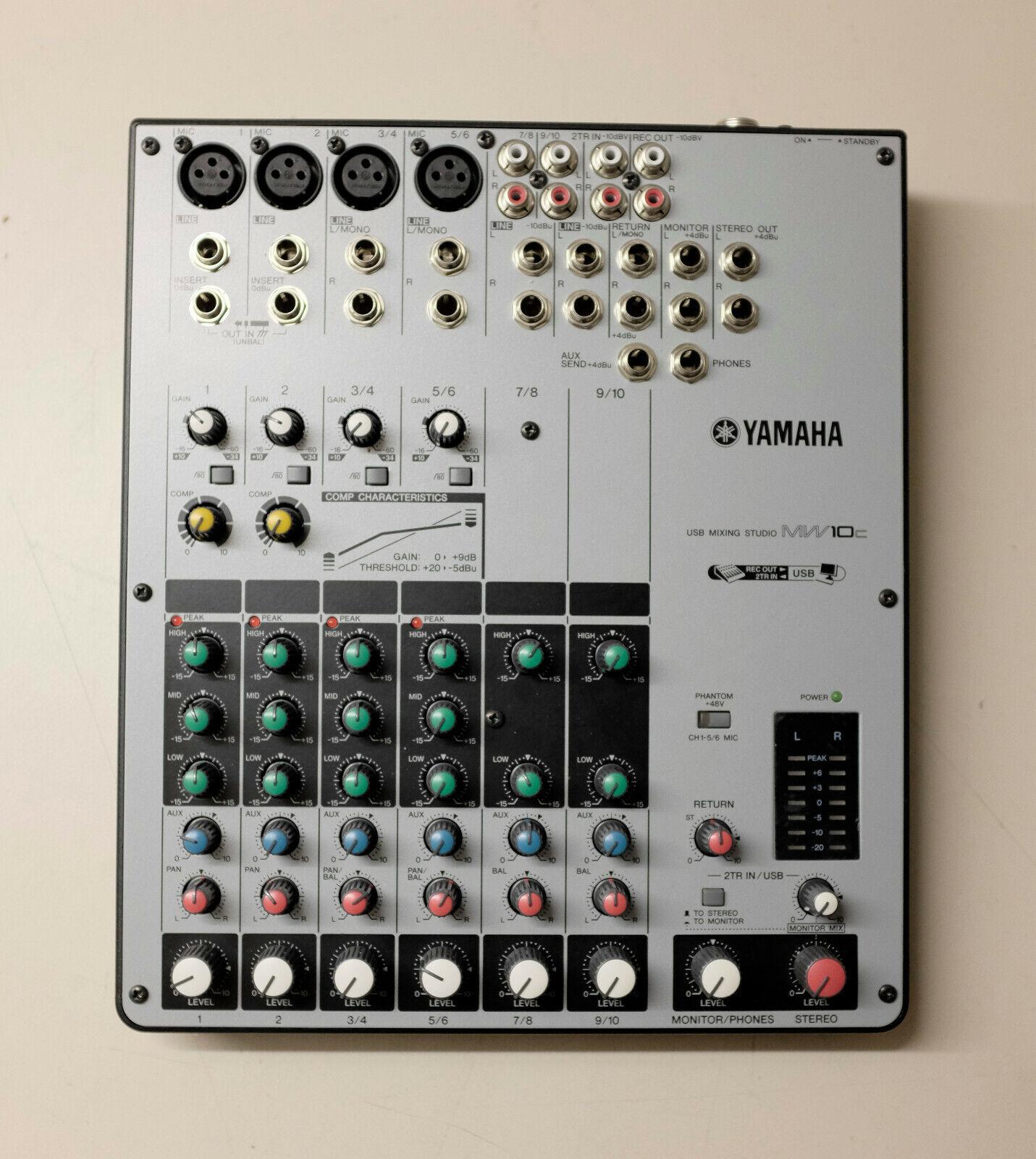 Yamaha MW10C USB Portable Mixer