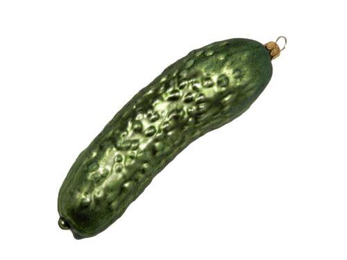 Cucumber Legend of Pickle Garden Vegetable Food Glass Christmas Ornament 220080