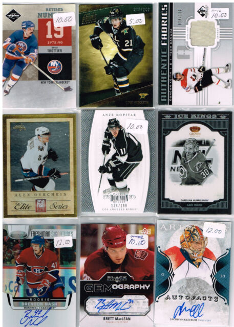HUGE Lot Of 2011-12 Autos - Game Used - Rookies - Parallels - Inserts c473c8d91