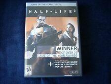 Half-Life 2: Game of the Year Edition (PC, 2005) 5 DISC