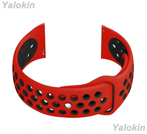 Red-and-Black-Band-with-Quick-Release-Pins-for-LG-Watch-W7-Urbane-R-G-Watch