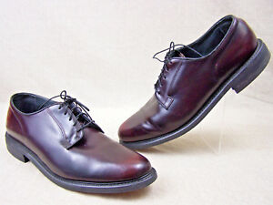 Stuart-McGuire-Spring-Step-Cushion-Shoes-Mens-Oxfords-Burgundy-Leather-Size-11-5