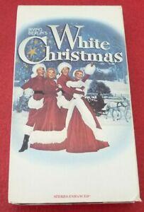 VHS-Movie-Irving-Berlin-039-s-White-Christmas-Stereo-Enchanced