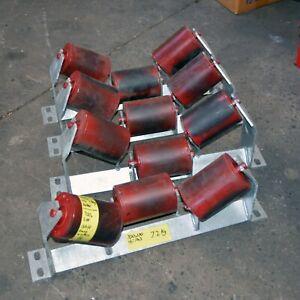 Buck-3-Rubber-roller-conveyor-assembly-115mm-diameter-x-160mm-long