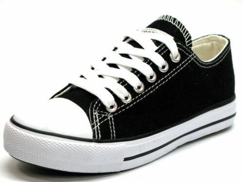New Mens Classic Lace Up Canvas Shoes Athletic Sneakers Casual Fashion Size 7-12