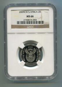 South-Africa-Coin-World-Oom-Paul-2009-R2-Mint-Mark-Ngc-MS-66-Collectible