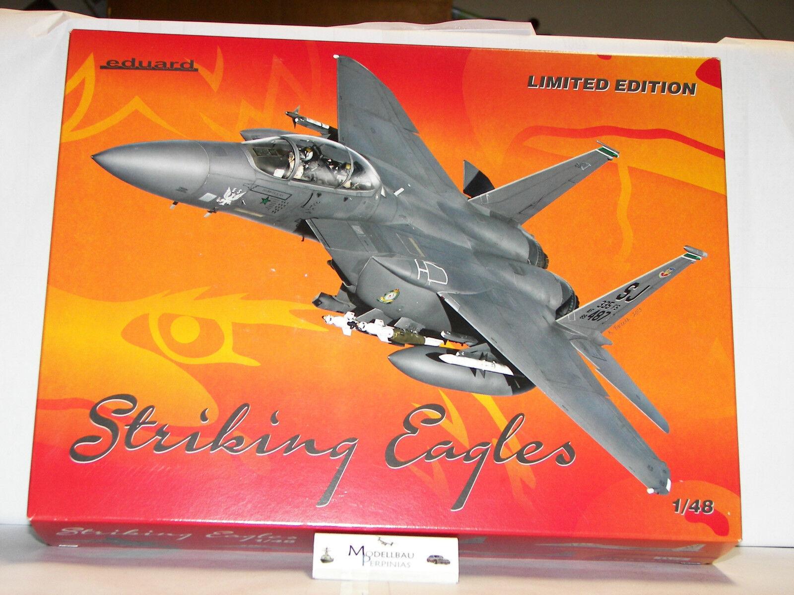 F- 15   Strike Eagle   Eduard 1 48  | Ausgezeichnetes Handwerk