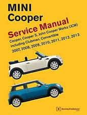 BMW NEW MINI COOPER S CLUBMAN CONVERTIBLE Owners Repair Service Manual Handbook