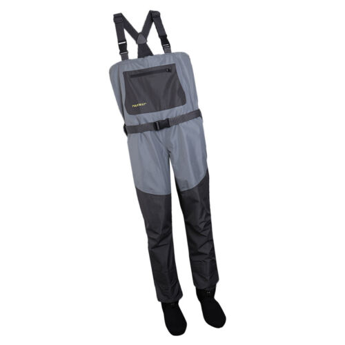 Waterproof Overall Fishing Chest Waders Hunting with Foot Boots