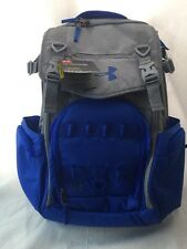 Under Armour Coalition Storm Backpack 21 x 13 x 8 inches Steel Gray Blue