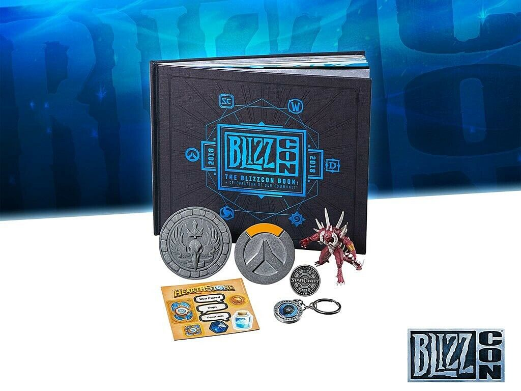 Blizzcon 2018 Goody Bag Overwatch Warcraft Diablo Blizzard EXCLUSIVE NEW SEALED