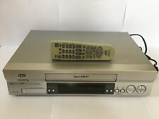 JVC HR-S5955EK VCR HI-FI Super VHS Video Cassette Recorder Player & Remote