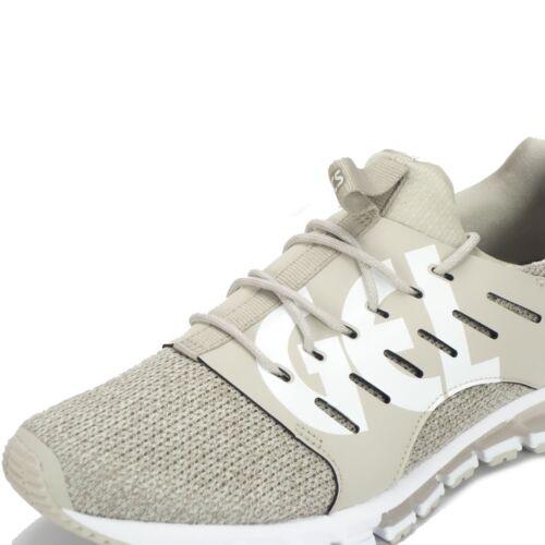 Gel Asics de hombre Grey Sc 180 correr para white Zapatillas Feather Quantum ffndqwSr