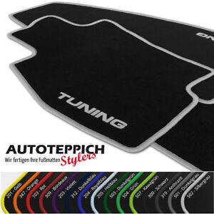 Fußmatten mit Tuning versch. Farben für VW Passat B3 / B4 35i + Variant Bj 1988-