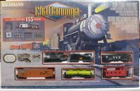 Bachmann Chattanooga Ready To Run Steam Locomotive Ho Scale Train Set 00626