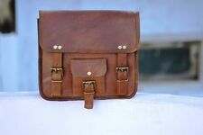 Side Pouch Brown 1 Leather Motorcycle Side Pouch Saddlebags Saddle Bag Panniers