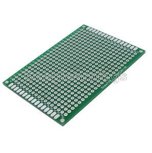 Double Side Prototype PCB Tinned Universal Breadboard 5x7 cm 50mmx70mm FR4