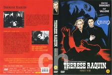 Therese Raquin (1953) - Marcel Carné, Simone Signoret, Raf Vallone  DVD NEW