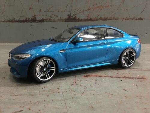 BMW 1:18 F87 M2 Diecast Miniature Model OEM 80432454833 Long Beach Blue