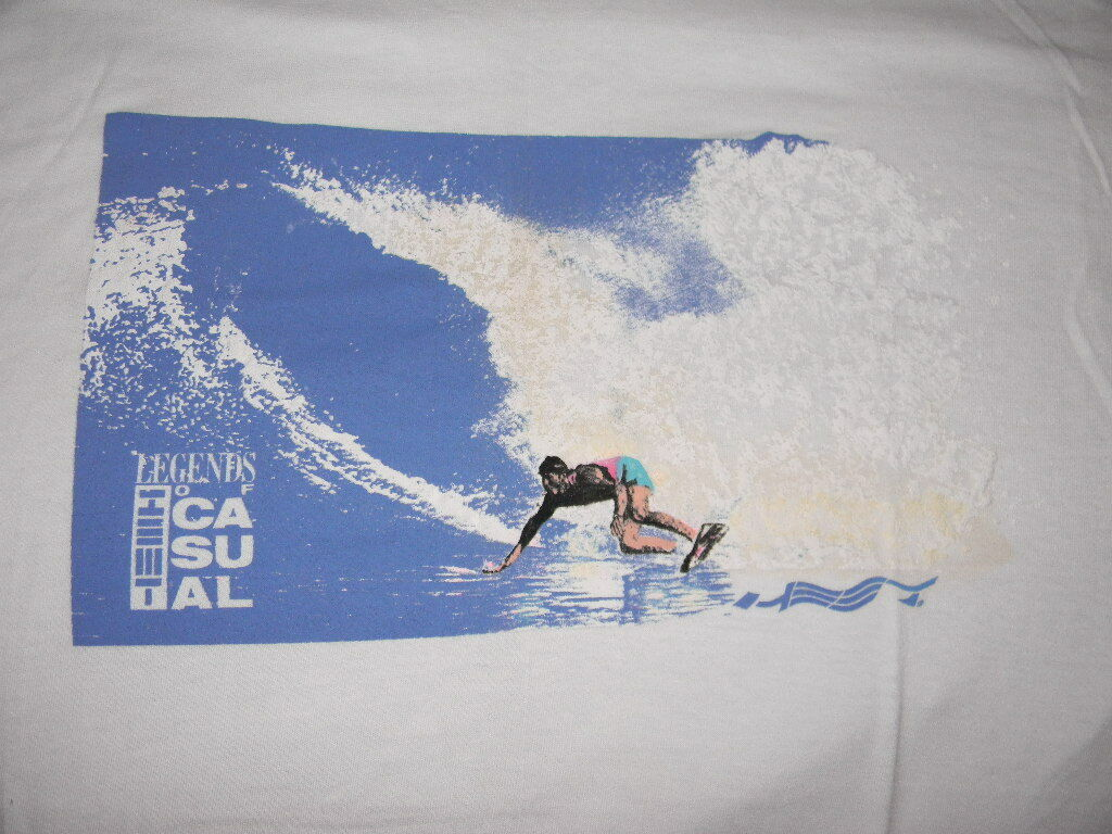 VINTAGE SURFING T hemd   LEGENDS OF CA  SU  AL  NEW NOS  SURF HEET