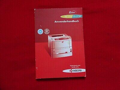 Anwenderhandbuch Für Drucker Kyocera Fs1750- Fs3750 Handbuch Bedienungsanleitung