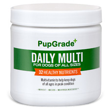 Pupgrade Dog Vitamins - Best Daily Multi Vitamin for Dogs Probiotic Enzymes 3
