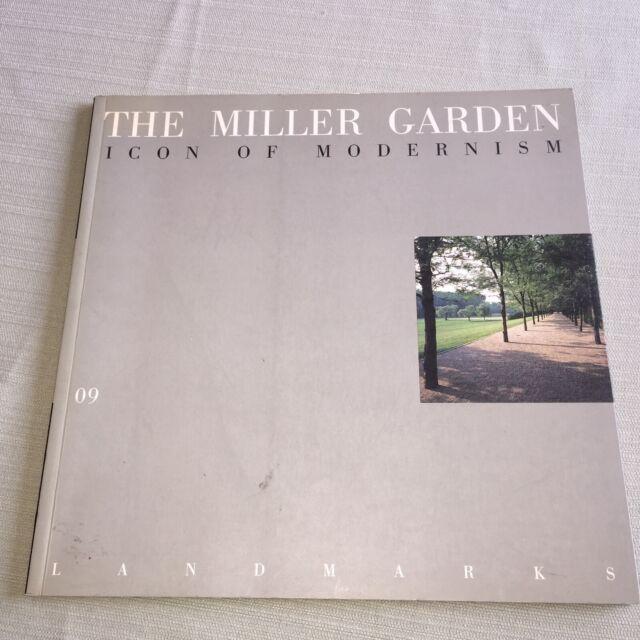 BOOK Landmarks 09 Miller Garden Icon Modernism GARY R HILDERBRAND Ezra Stoller