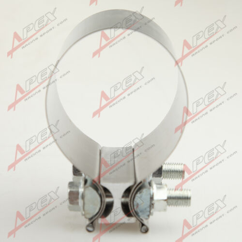 """2/"""" Stainless Ssteel Exhaust Flat Band Clamp//Clamps"""