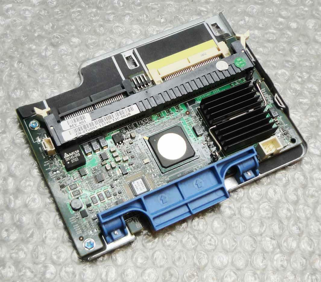 Dell TU005 0TU005 PowerEdge PERC 5/I SAS RAID Controller Card with Tray