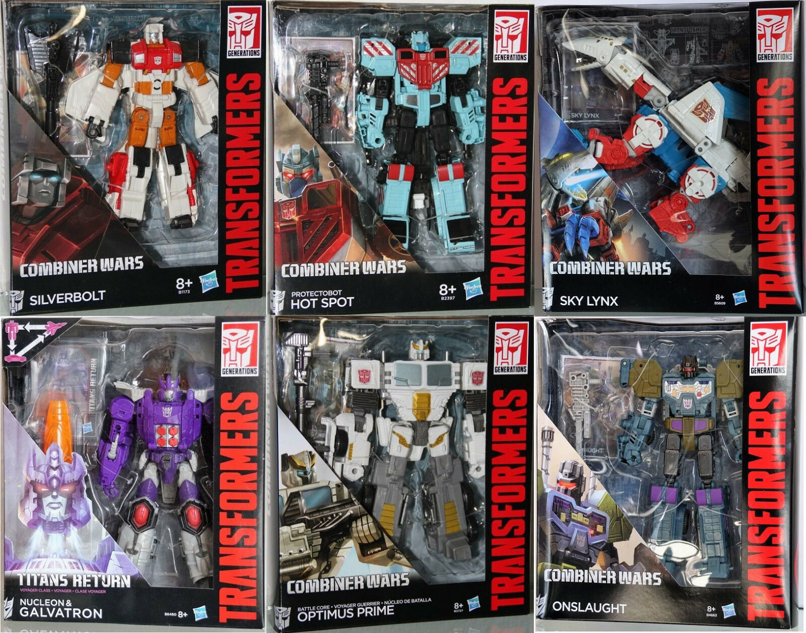 B Transformers-Combiner Wars Generations-Voyager - Hasbro - Choisir