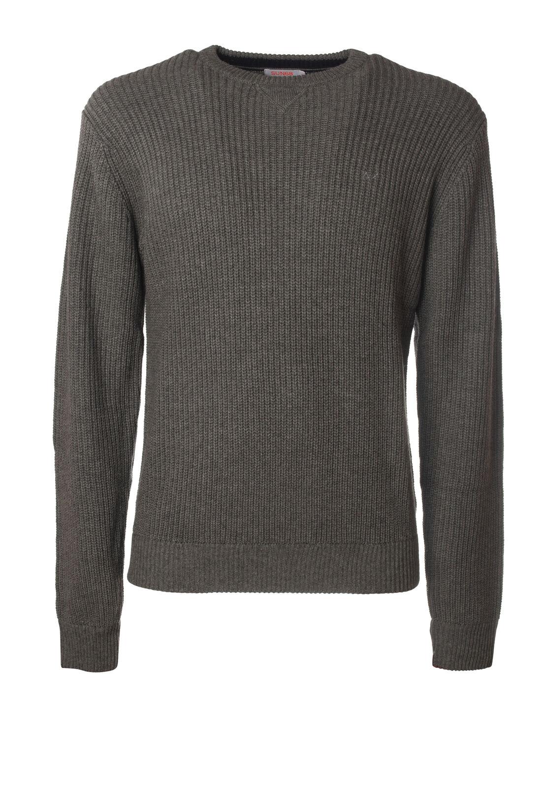 Sun 68 - Knitwear-Sweaters - Man - Grau - 5559926I184602