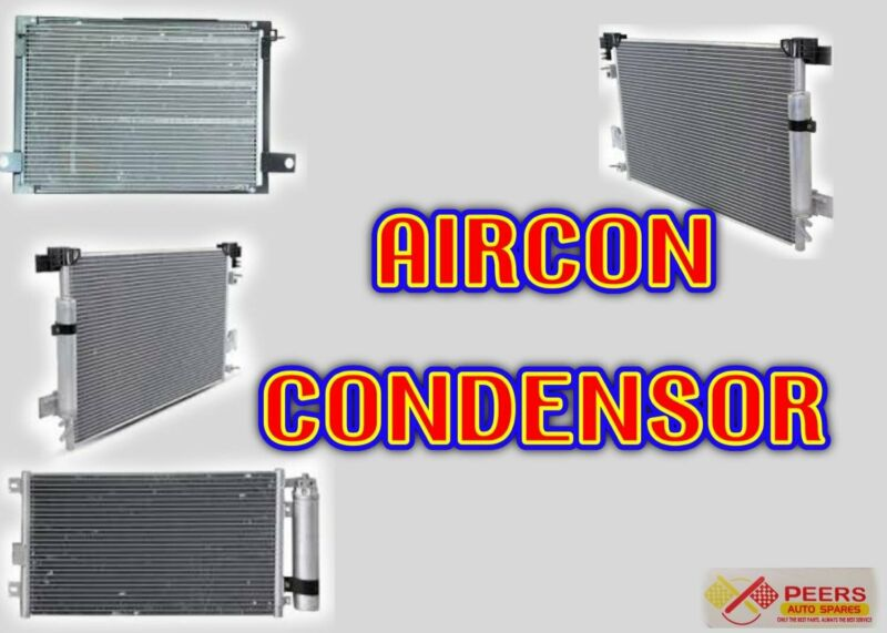 AIRCON CONDENSOR FOR MOST VEHICLES