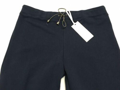 donna polso Felpa da in Calaluna elastica da garza blu nella vita Pantaloni pqx4wEP1
