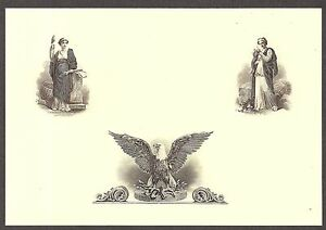Flawless Condition Two Beautiful Engraved Vignettes CU Engravings