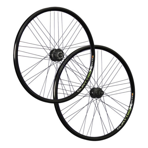 VUELTA 28inch bike wheel set Airtec1 Shimano DH-3D30 Deore 525 6 L disc black
