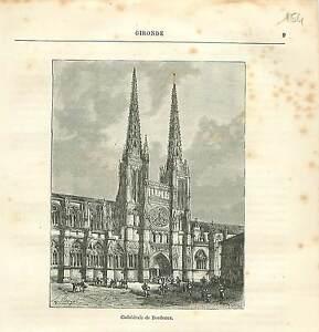 Cathedrale-Saint-Andre-de-Bordeaux-FRANCE-GRAVURE-ANTIQUE-OLD-PRINT-1882