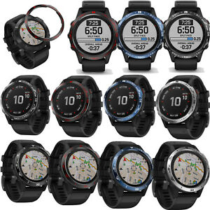Watch-Bezel-Ring-Adhesive-Cover-Case-fuer-Garmin-Fenix-6-Pro-Fenix6-Sapphire