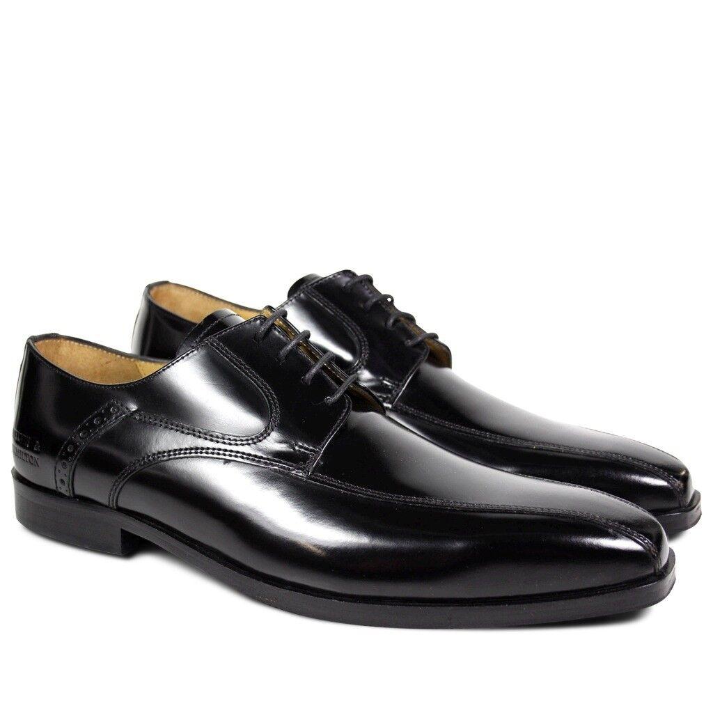 Melvin & Hamilton Herren Derby Schuhe - Austin 3 schwarz