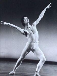 Photo Originale Argentique Danse Danseur étoile Jean Yves Lormeau Gay Interest