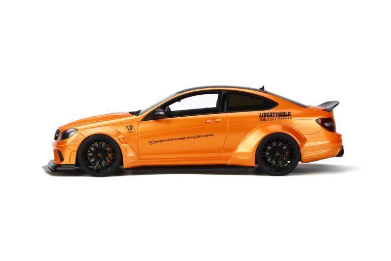 LB lavoroS C63 Arancione Mettuttiizzato GT SPIRIT modellololo 118  GT215