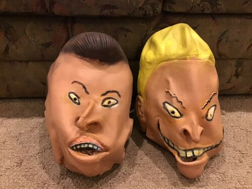 Beavis And Butthead Masks (1993) - MTV Networks