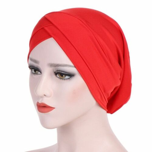 Damen Muslimisch Bonnet Hijab Turban Hut Chemo Kappe Kopf Schal Kopfverpackung