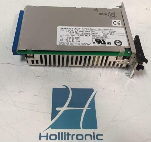Jasper Electronics PCI204-1022-4 200W Max Compact PCI Hot Swap Power Supply