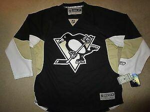 best cheap 3f794 de8e7 Pittsburgh Penguins NHL Reebok Hockey Jersey XL