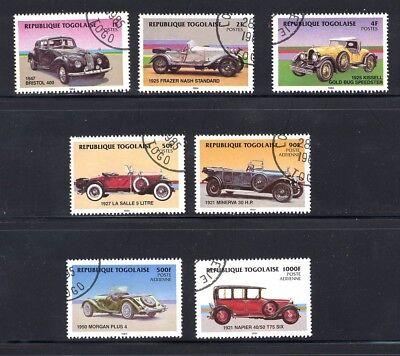 GroßZüGig Togo 1984, Mi.-nr.: 1792-1799, Gestempelt, Ansehen,(m13) SchöNe Lustre