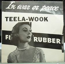 """TEELA-WOOK In War Or Peace 12"""" EP Record PT-109 READY"""