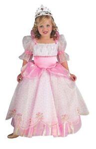 Rubies-Posh-Pink-Princess-Girl-039-s-Costume-w-Full-Length-Dress-Crown-881226