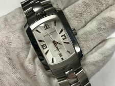 Mens Baume and Mercier Hampton Milleis Automatic Silver Dial 65480 Watch